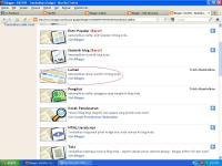 Cara Membuat Menu Blog Horizontal